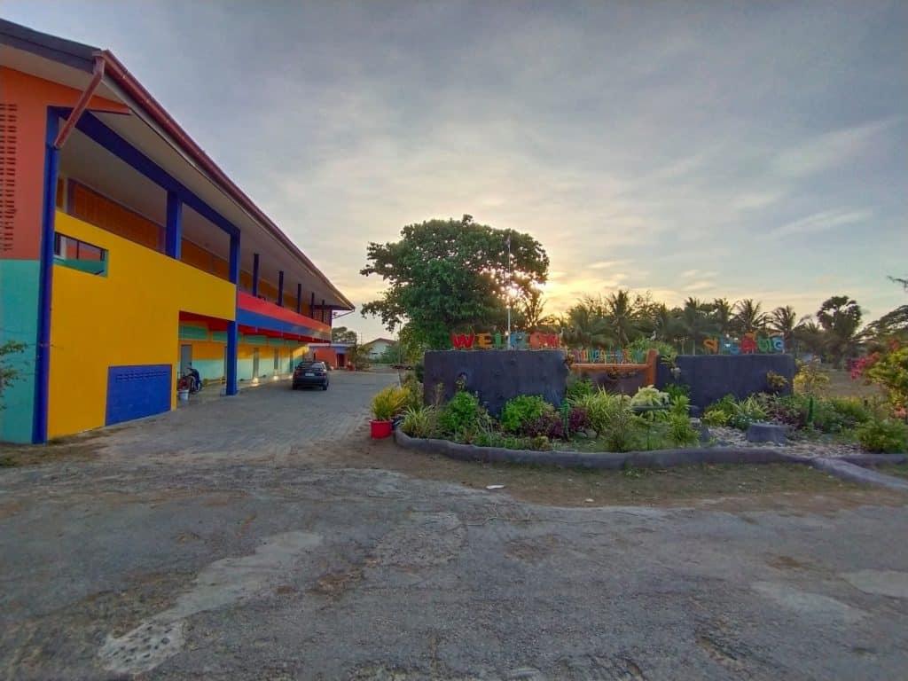 บรรยากาศโรงเรียนวัดปากระวะ อ.หัวไทร จ.นครศรีธรรมราช โรงเรียนขนาดเล็กติดทะเล เหมือนได้เที่ยวทะเลทุกวัน !!