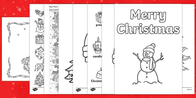 แจกฟรี สื่อการสอนวันคริสต์มาส ตลอดเดือนธันวาคมนี้ จาก Twinkl