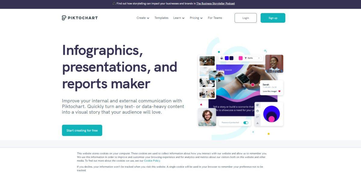 8 เว็บไซต์ช่วยครู สร้างภาพอินโฟกราฟิก ได้สวยๆ ไม่ง้อ Photoshop