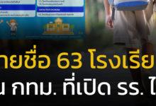 63 โรงเรียน ในกรุงเทพ